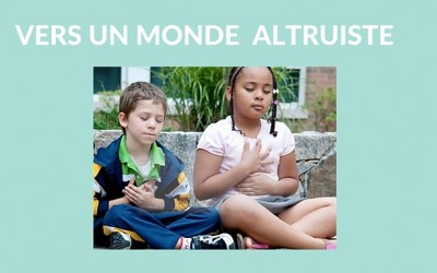 Altruisme, empathie, compassion…c'est naturel ?